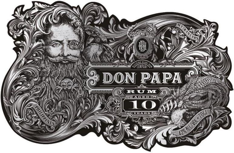 Don Papa 10 Years Old Rum