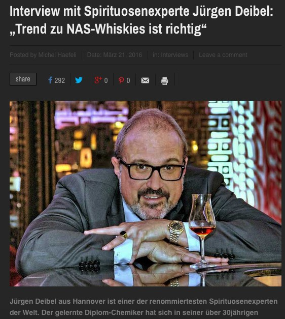 Reaktion auf NAS-Blog: Artikel in drinks-and-more.ch