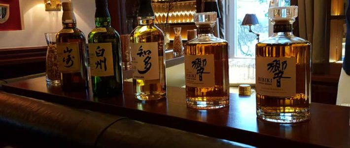 The Japanese whisky industry